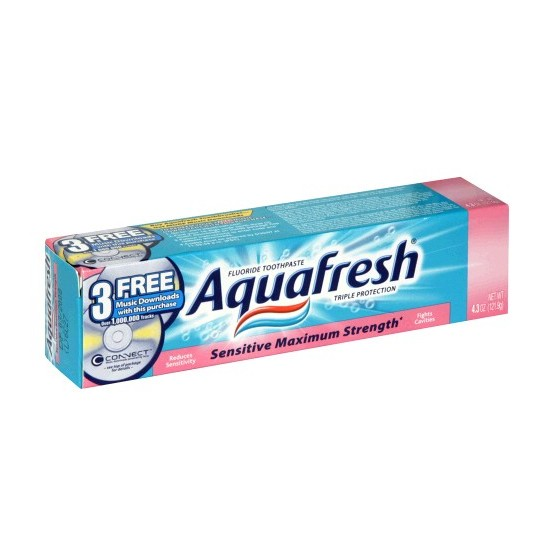 AQUAFRESH 107G SENSITIVE