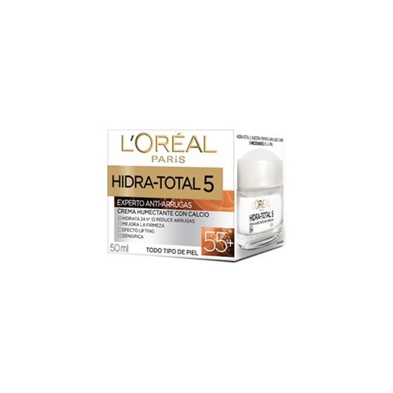L'OREAL CREMA HIDRA-TOTAL 50ML ANTI-ARRUGAS CALCIO 55+