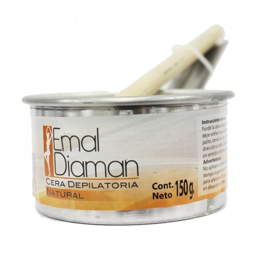 EMAL DIAMAN CERA DEPILATORIA 150G NATURAL