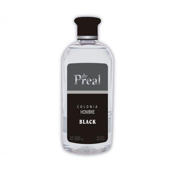 DE PREAL COLONIA HOMBRE 500ML BLACK