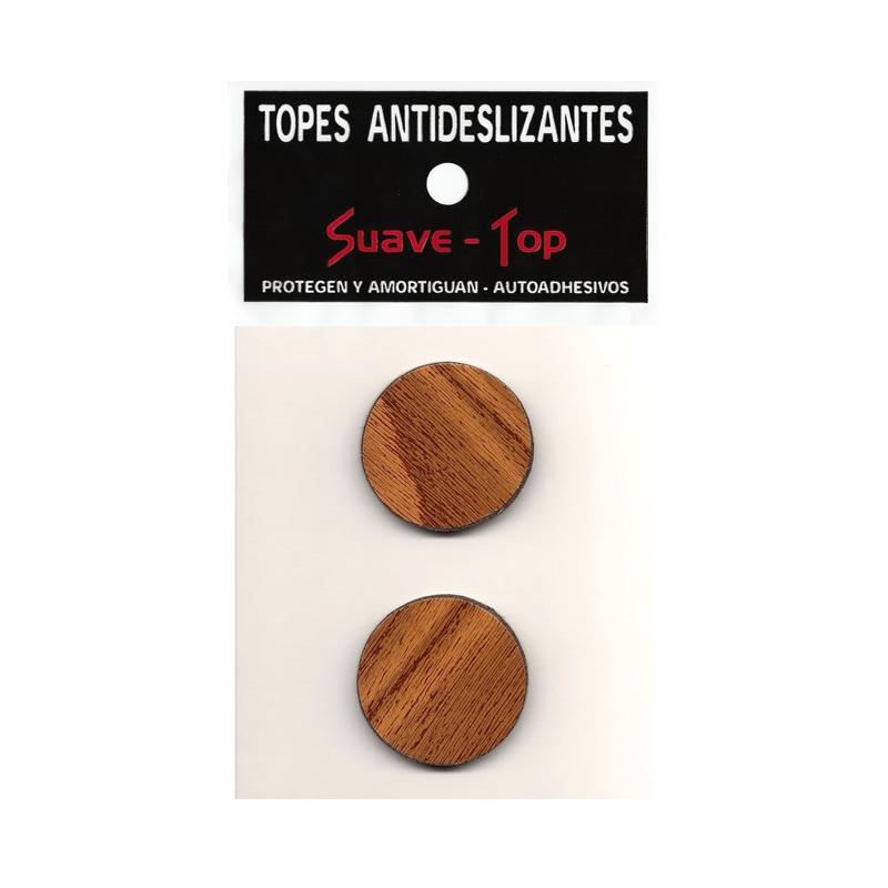 SUAVE-TOP TOPETINAS CIRCULAR BLANCAS (COD-23)