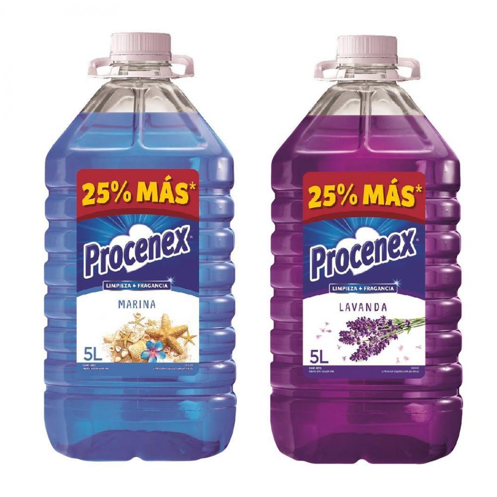 PROCENEX LIMPIADOR LIQUIDO 5L