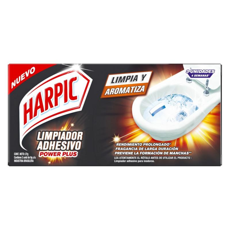 HARPIC LIMPIADOR ADHESIVO POWER 3U 27G