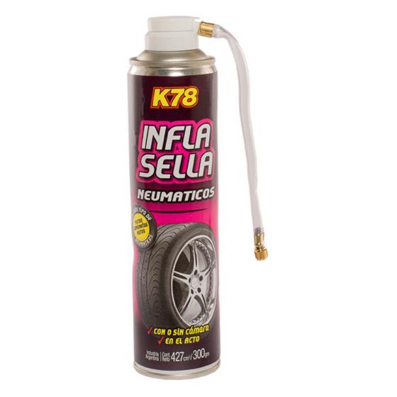 K78 INFLA SELLA NEUMATICOS 427CC