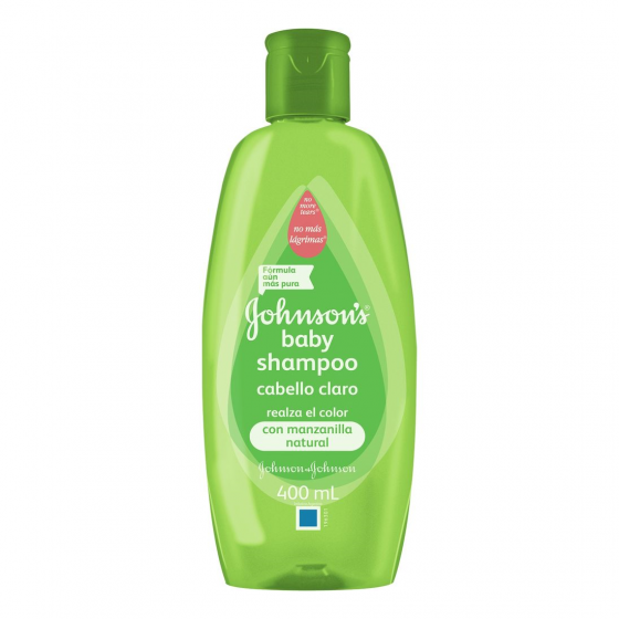 JOHNSONS SHAMPOO 400ML MANZANILLA