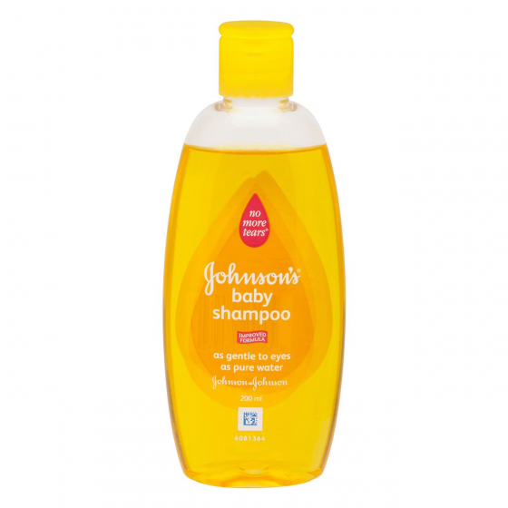 JOHNSONS SHAMPOO 200ML ORIGINAL