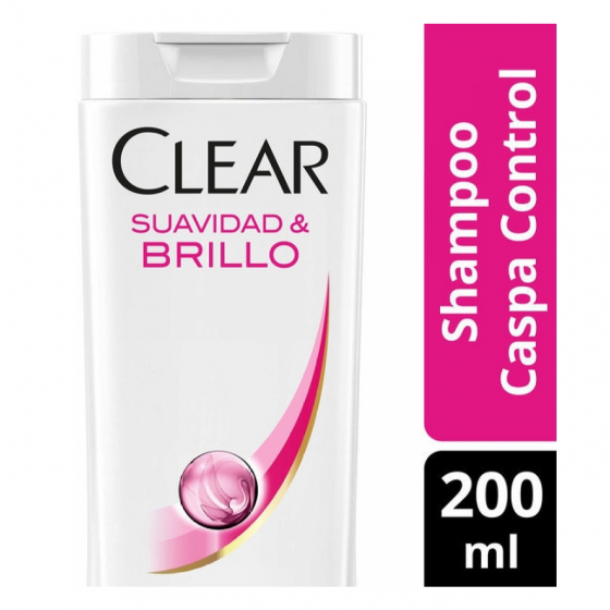 CLEAR WOMEN 200ML SHAMPOO SUAVIDAD