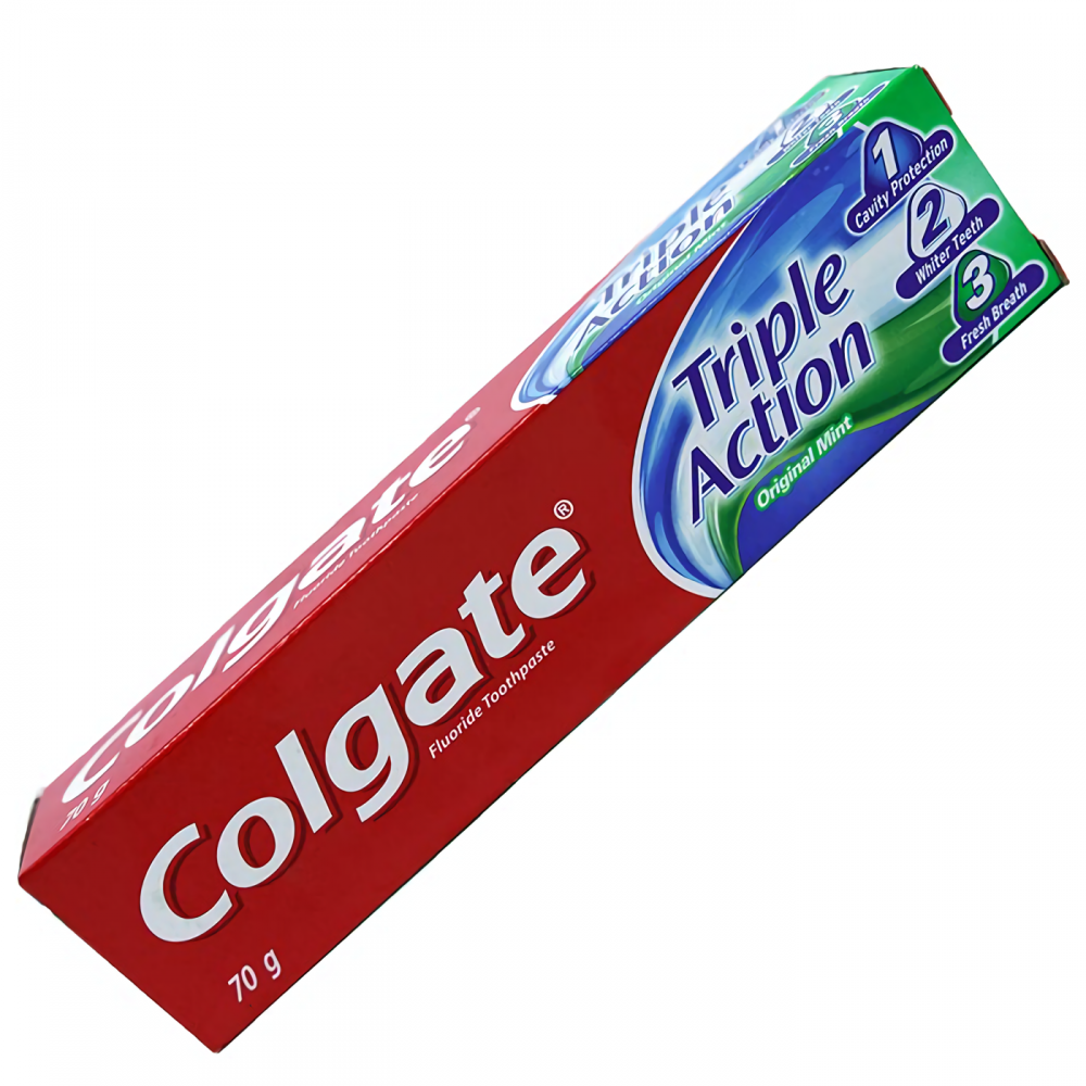 COLGATE CREMA DENTAL 70G TRIPLE ACCION