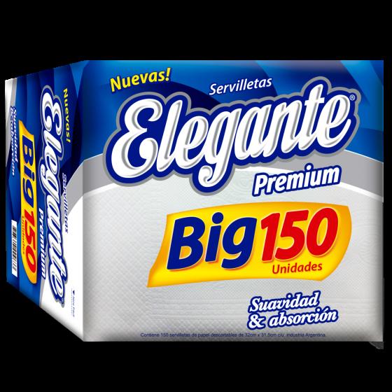 ELEGANTE SERVILLETAS 150U (COD-945)