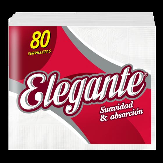ELEGANTE SERVILLETAS 80U (COD-940)