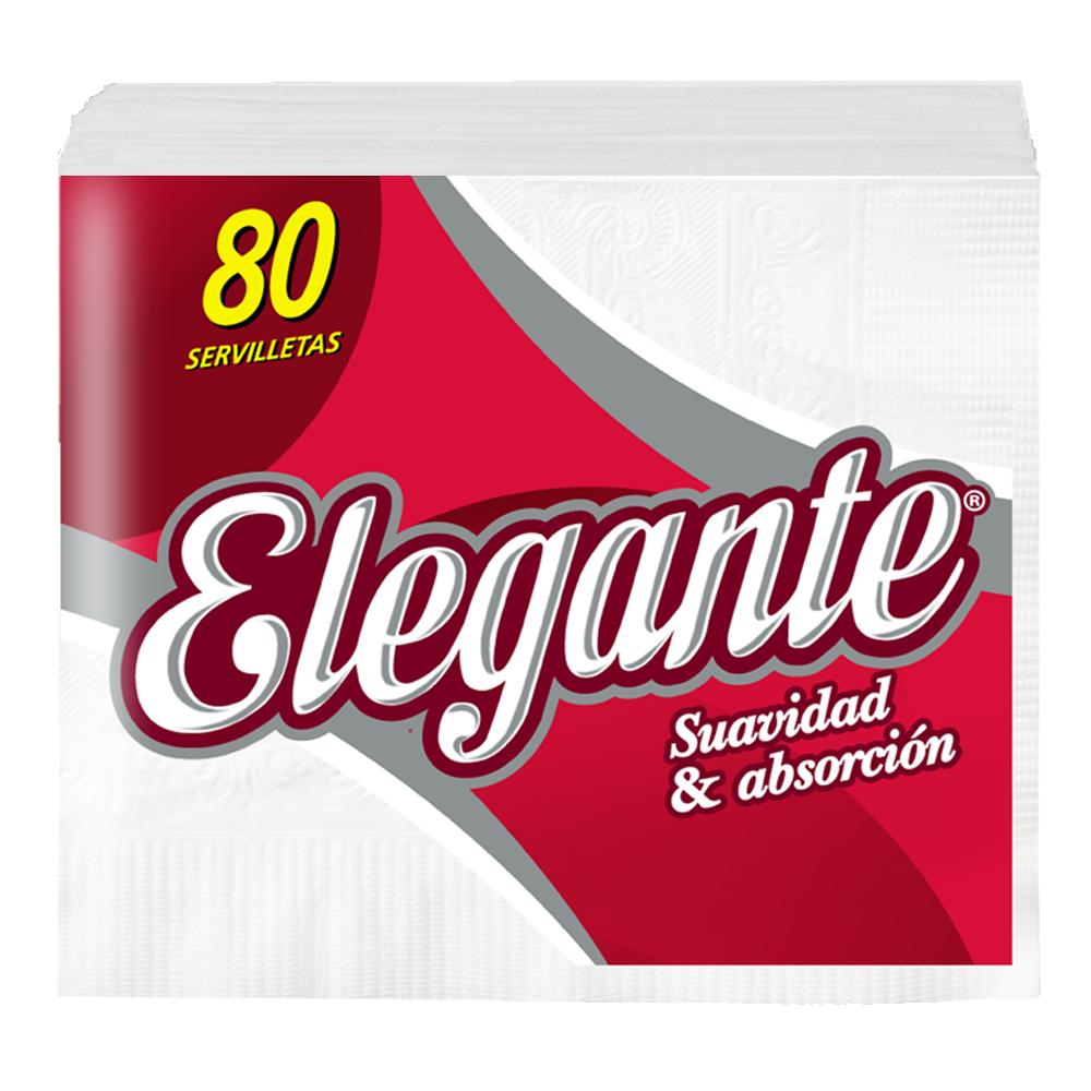 ELEGANTE SERVILLETAS 80U (COD-941)