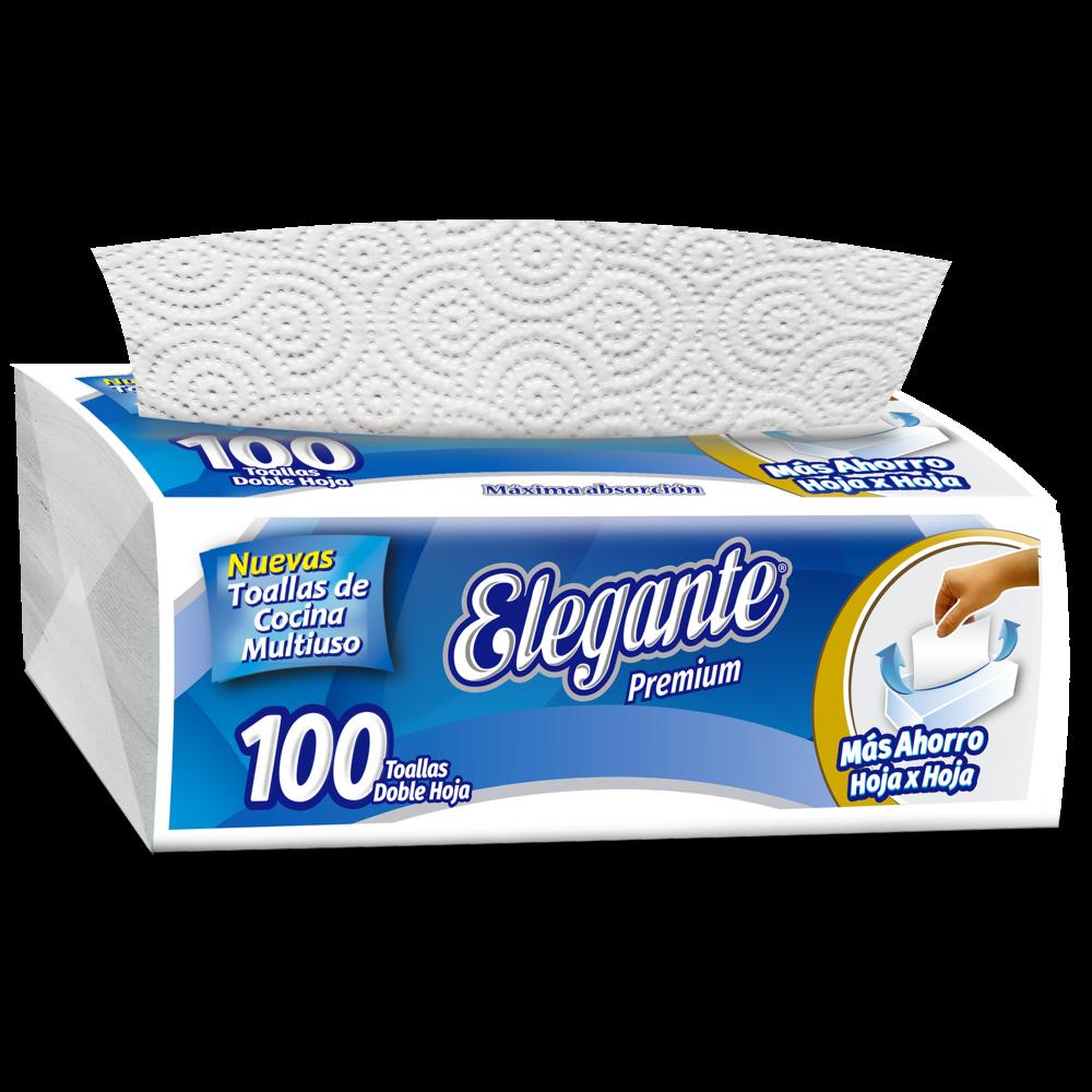 ELEGANTE PAÑO COCINA INTERCALADO 100U (COD-995)