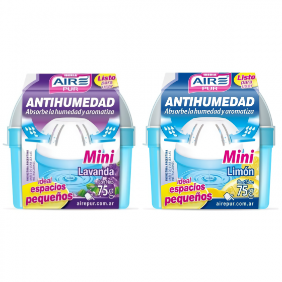 AIRE PUR ANTIHUMEDAD 75G DESCARTABLE