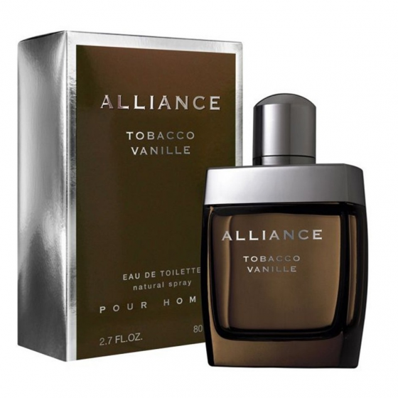 ALLIANCE TOBACCO VANILLE HOMBRE EAU 80ML