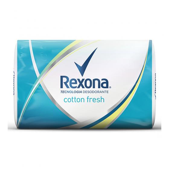 REXONA JABON 125G COTTON FRESH