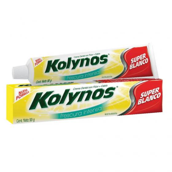 KOLYNOS DENTRIFICO 90G SUPER BLANCO