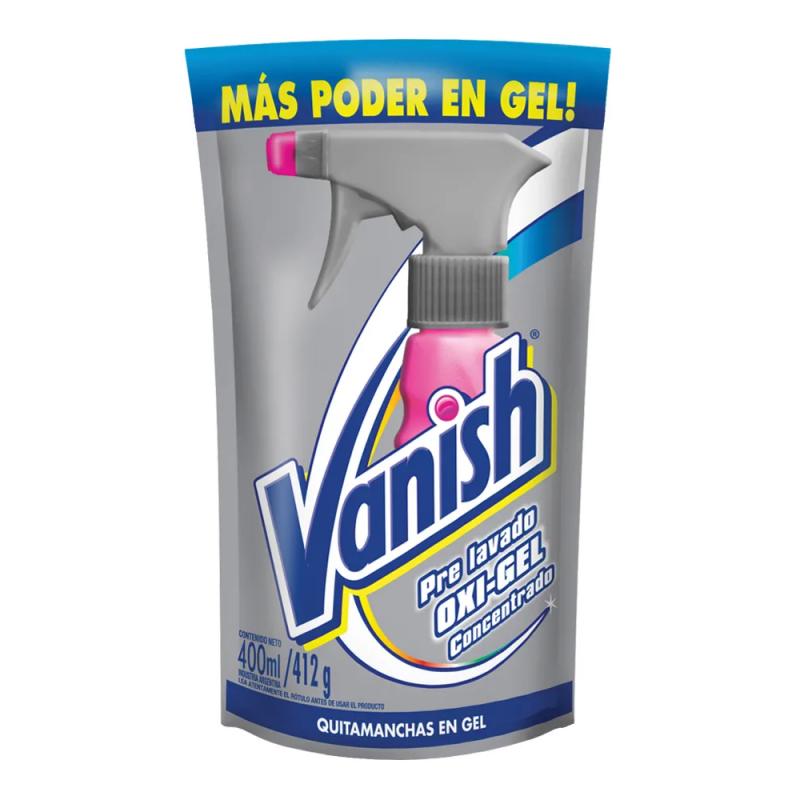 VANISH QUITAMANCHAS 400ML LIQUIDO OXY-GEL