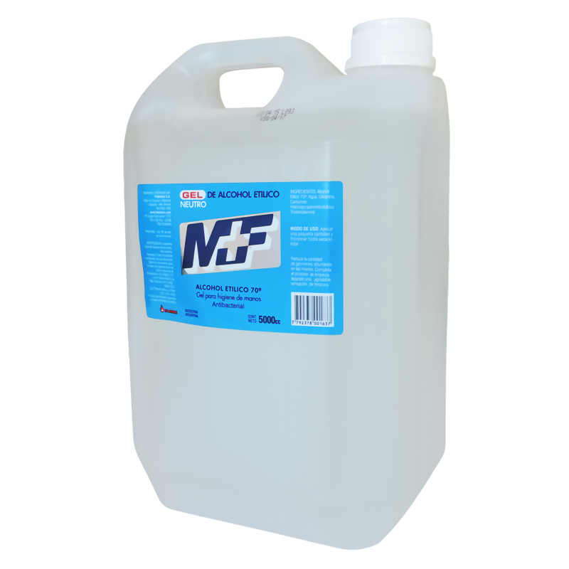 MF ALCOHOL GEL 5L 70%