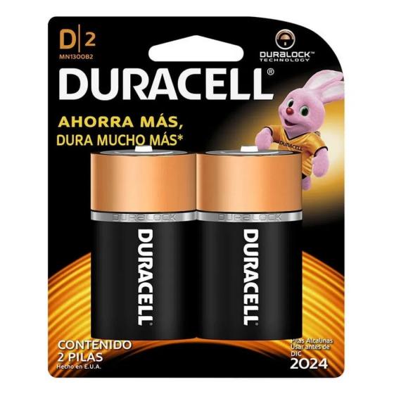 DURACELL PILAS D 2U