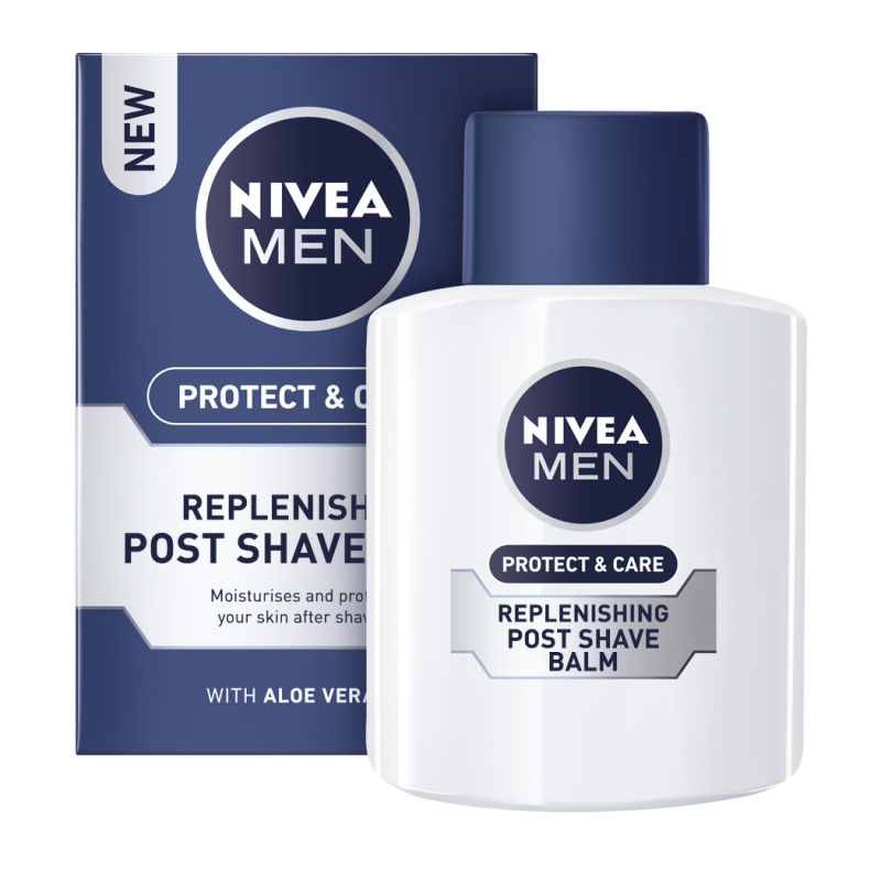 NIVEA AFTER SHAVE 100ML PROTECT & CARE