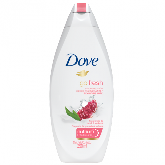 DOVE JABON LIQUIDO 250ML REVIGORIZANTE