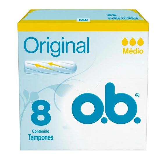 OB TAMPONES 8U MEDIO