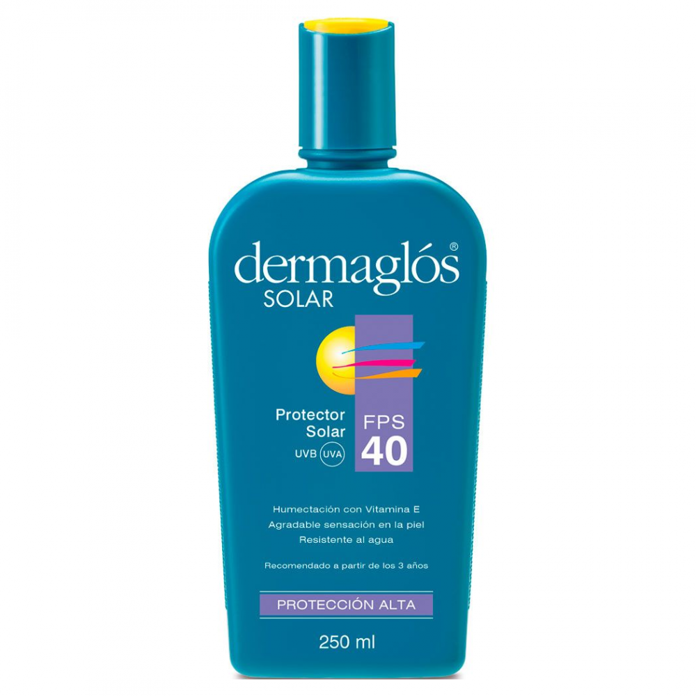 DERMAGLOS SOLAR F40 250ML