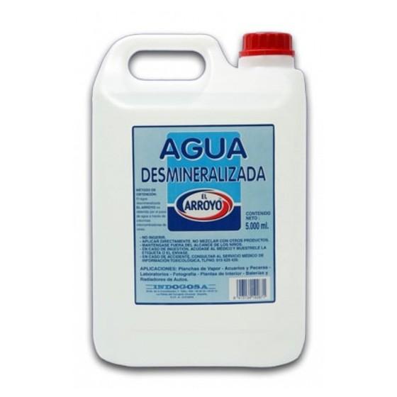 AGUA DESMINERALIZADA 5L