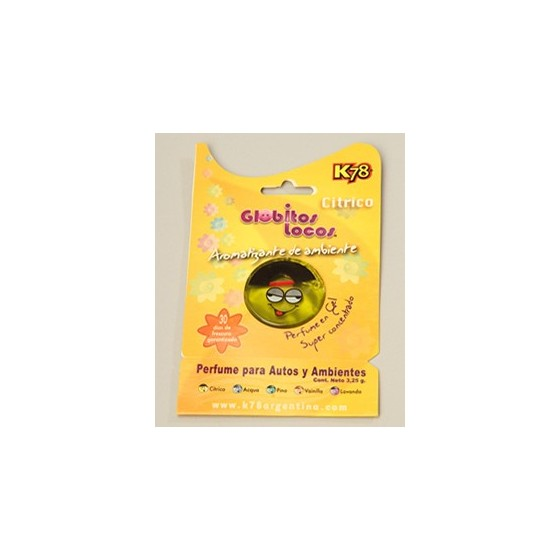K78 PERFUME AMBIENTADOR GLOBITO 3.25GR
