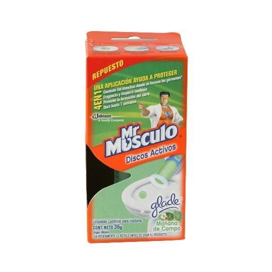 MR MUSCULO DISCOS ACTIVOS RTO MAÑANA DE CAMPO