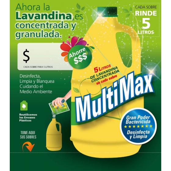 MULTIMAX-5 LAVANDINA POLVO (RINDE 5L)